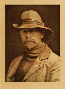Edward Curtis self portrait