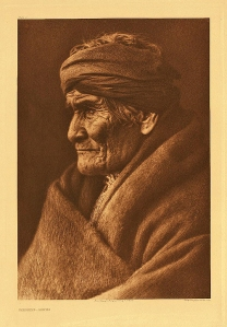 Geronimo by Edward Curtis