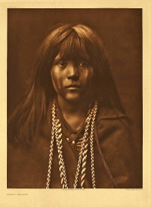 Most of the Mohaves by Edward Curtis