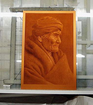 Photogravure-plate-of-Geronimo
